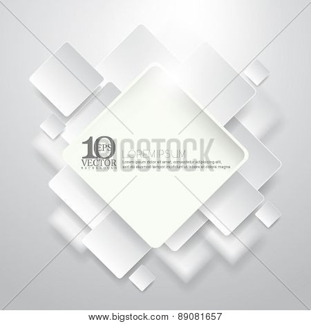 eps10 vector chrome futuristic frame corporate business background