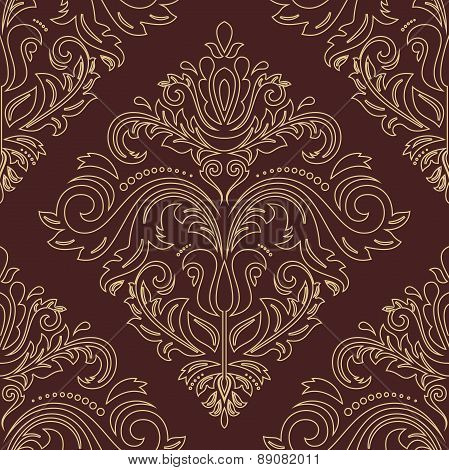 Damask  Orient Pattern