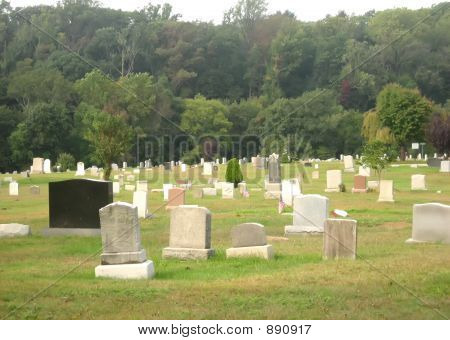 Graveyard In Autumn 2