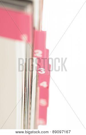 Files - close up