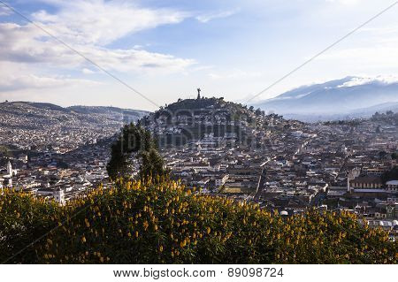 Viewpoint In San Juan, Quito.