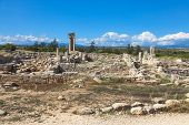 image of cultural artifacts  - Historic ruins in Cyprus - JPG