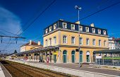 stock photo of gare  - The Station of Bourg - JPG