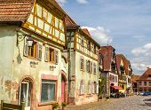 pic of timber  - Traditional timbered houses in Bergheim  - JPG