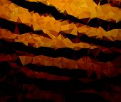 picture of tigers  - Background modern texture triangle geometry tiger stripes dangerous - JPG