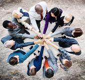 picture of coworkers  - Business People Cooperation Coworker Team Concept - JPG