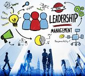foto of idealistic  - Leadership Leader Management Authority Director Concept - JPG