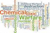 pic of chemical weapon  - Background text pattern concept wordcloud illustration of chemical warfare - JPG