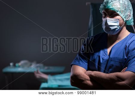 Doctor Is Ready For Operation