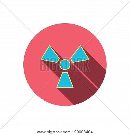 Radiation icon. Radiology sign.