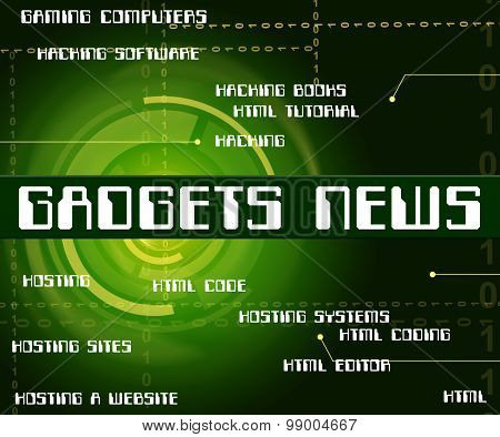 Gadgets News Means Information Words And Apparatus