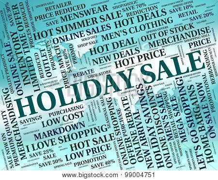 Holiday Sale Shows Go On Leave And Bargain