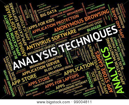 Analysis Techniques Means Mode Analytic And Tactics