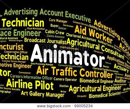 Animator Job Shows Animators Occupations And Employee