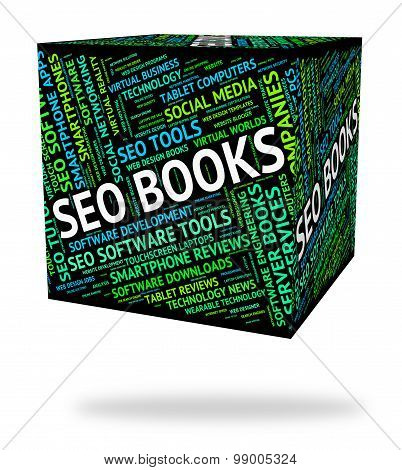 Seo Books Indicates Optimized Optimizing And Optimize