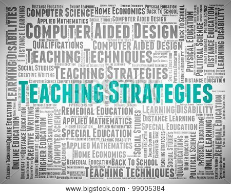 Teaching Strategies Means Business Strategy And Coach