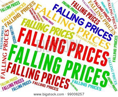 Falling Prices Shows Promo Lowering And Sales