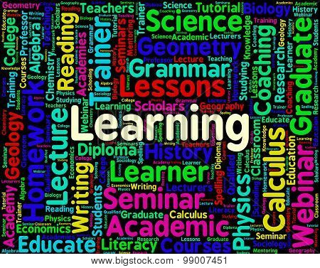 Learning Word Represents Training Develop And Study