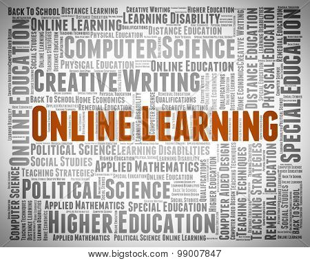 Online Learning Shows World Wide Web And Searching