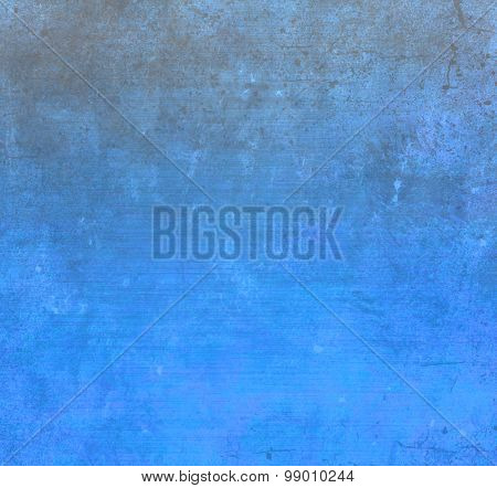 Blue wall texture or background