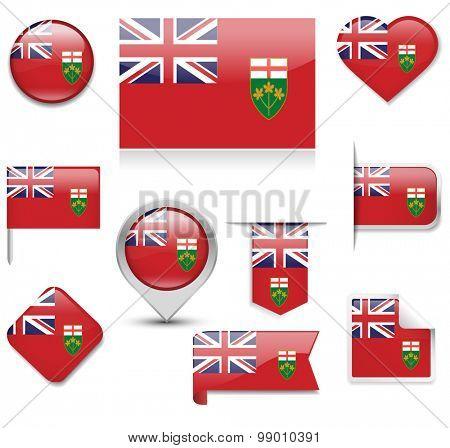 Ontario Flag Collection