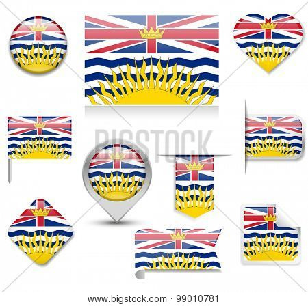 British Columbia Flag Collection