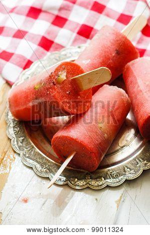 Summer Dessert With Watermelon