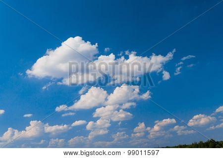 Cloudy Outdoor Shining Day