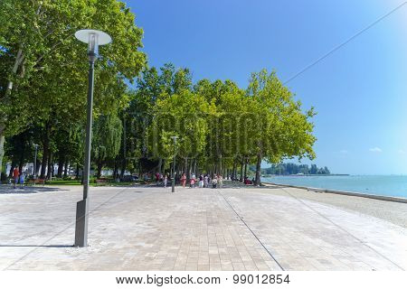 Promenade In Balatonfured