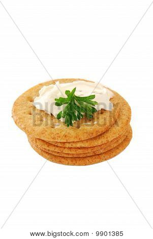 Crackers With Cheese