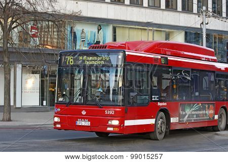 Stockholm - Bus service