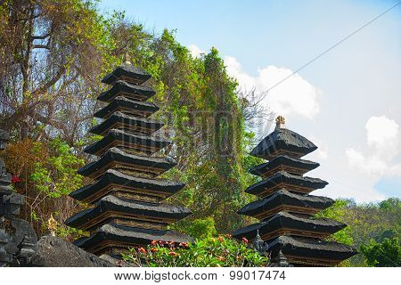 Heaps Of Guano At Goa Lawah Bat Cave Temple In Bali