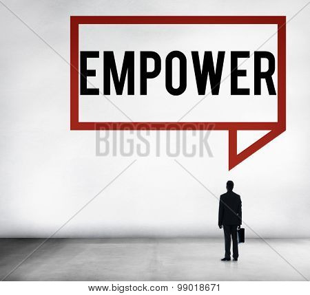 Empower Authority Permission Empowerment Enhance Concept
