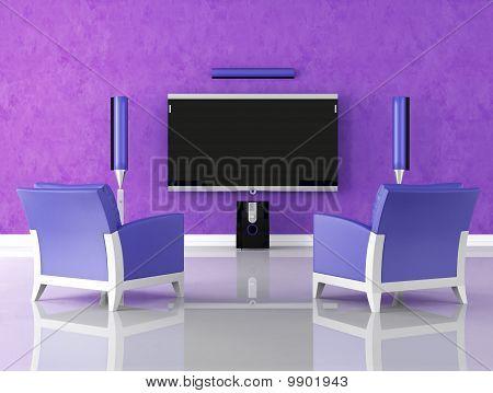 Purple Home Theater