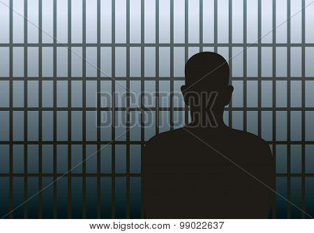 Prisoner Behind The Bars