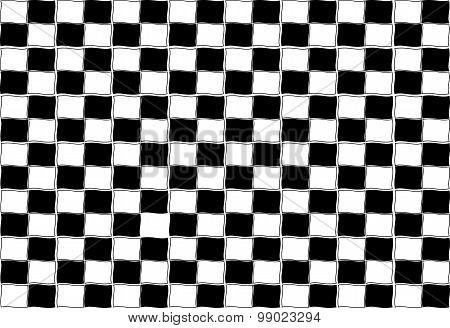 Black White Grid Channel Texture