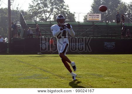 Former Philadelphia Eagles Cornerback Nnamdi Asomugha