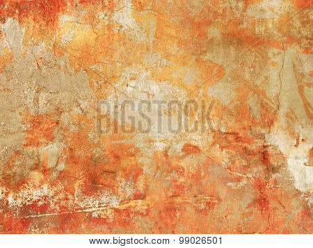 Abstract grunge background in colorful fall colors