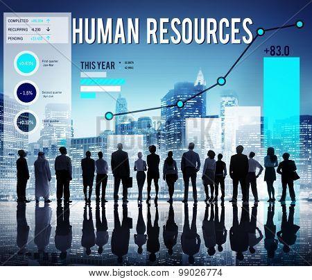 Human Resources Career Hiring Profession Concept