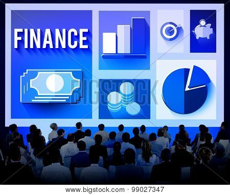 Finance Financial Investment Banking Exchange Concept