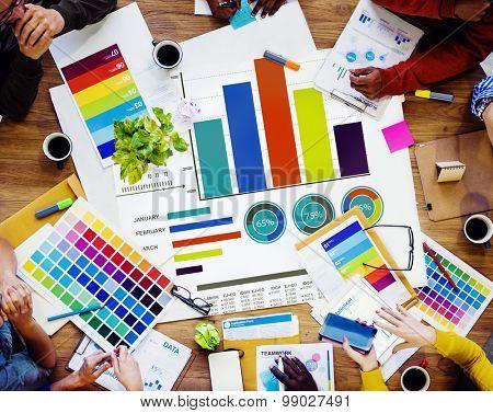 Diversity Teamwork Strategy Design Brainstorming Ideas Concept