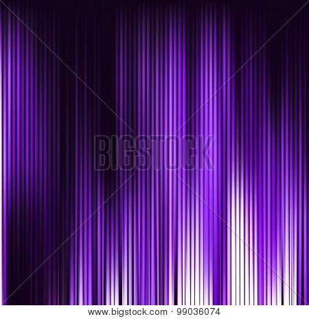 Abstract Violet Background. Motion Purple Vertical Lines. Vector Technology Backdrop
