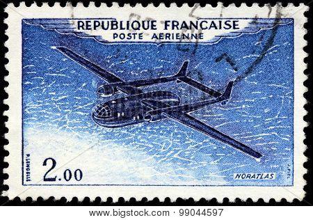 Nord Noratlas Stamp