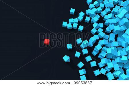 3d unique cube