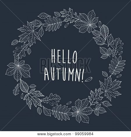 Hello Autumn! Background