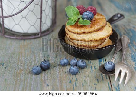 Breakfast In Rustic Style