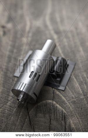 Modern Electronic Cigarette Vaporizer.