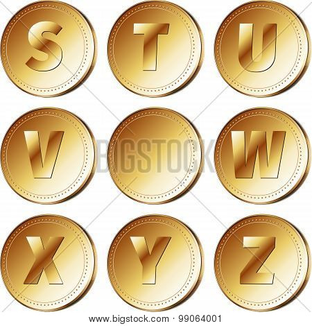 Coins with letters - part 3