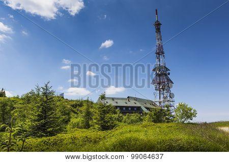 Transmiter On Skrzyczne Mountain In Szczyrk, Poland