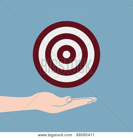 Hand Hold Target